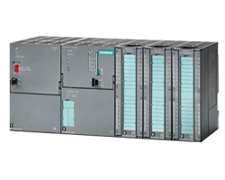 Siemens S7-300 populated rack